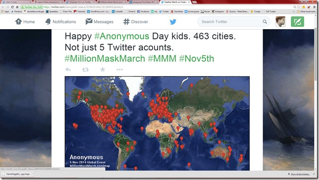 MMM in 463 cities
